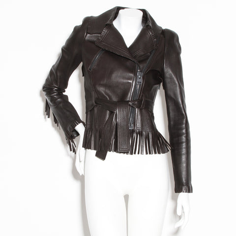 Tom Ford Fringe Leather Jacket