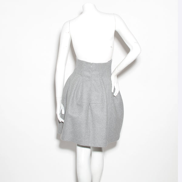 Alaia Wool Bubble Skirt