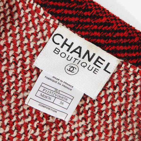 Chanel Asymmetrical Cardigan