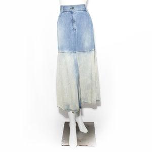 Chanel Denim Maxi Skirt Resort 2011