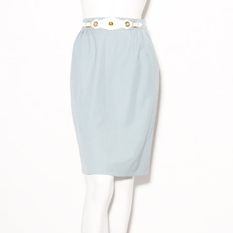 Hermes Skirt With Belt