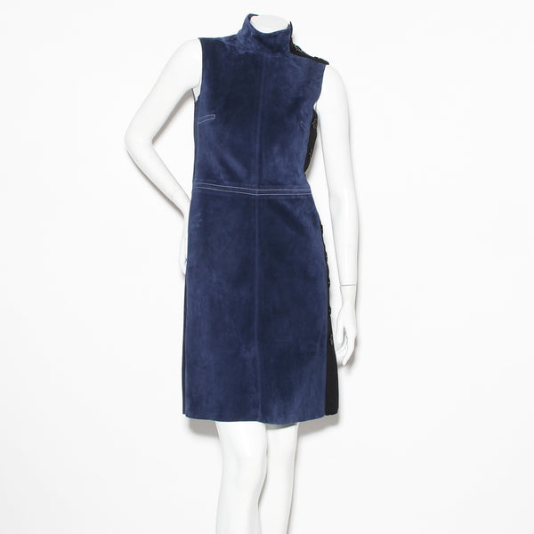 Celine Suede Shift Dress