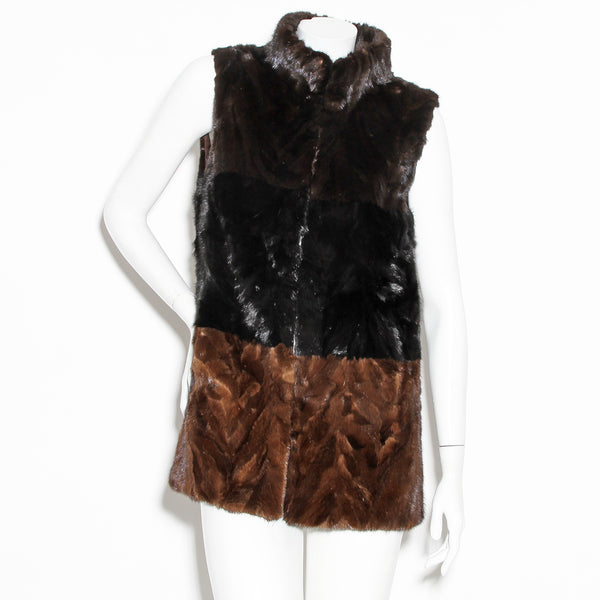 Pologeorgis Mini Fur Vest