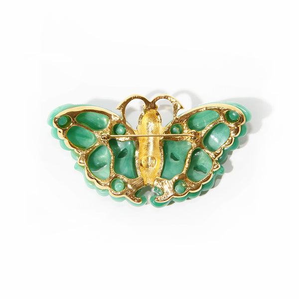Kenneth Jay Lane Butterfly Brooch