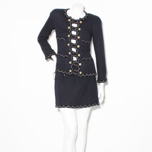 Chanel Fantasy Tweed Skirt Suit