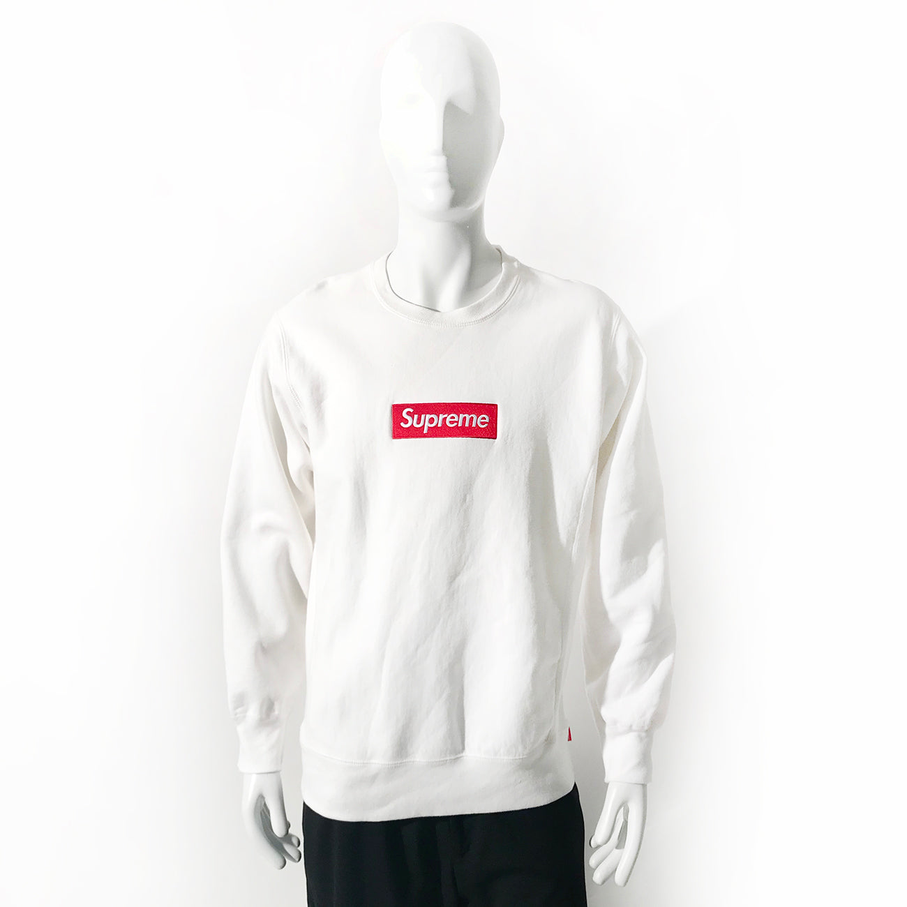 Supreme Logo Crew Neck Sweatshirt