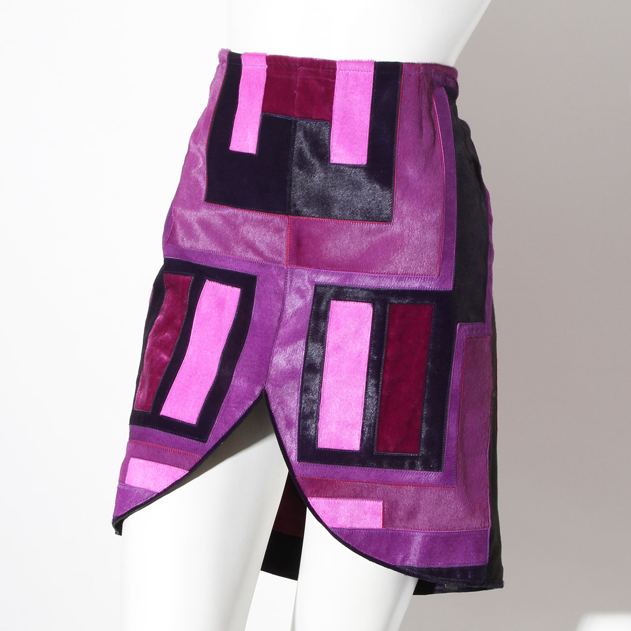 Tom Ford Graphic Pony Hair Skirt