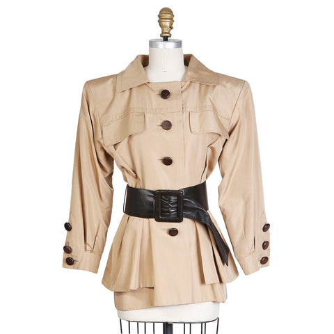 Haute Couture Safari Shirt with Belt