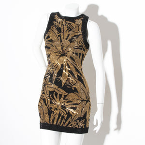 Balmain Studded Sleeveless Dress