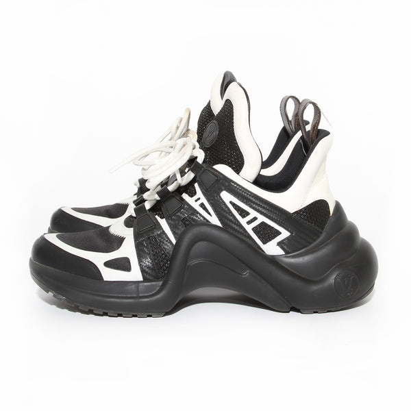 Louis Vuitton Archlight Black and White Sneaker