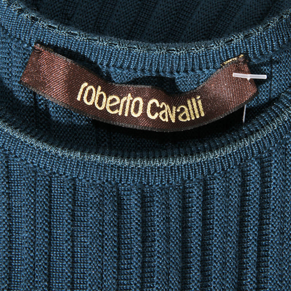 Roberto Cavalli Knit Drop Waist Dress