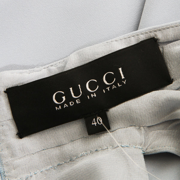 Gucci V-neck Dress with Belt