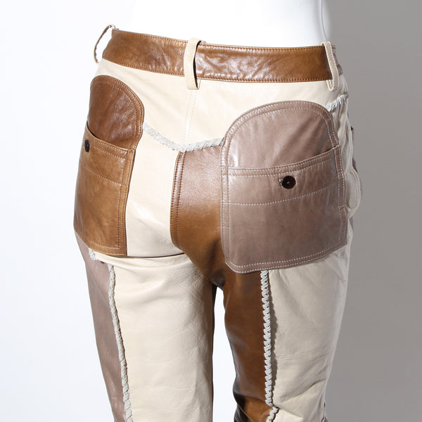 Galliano Patchwork Leather