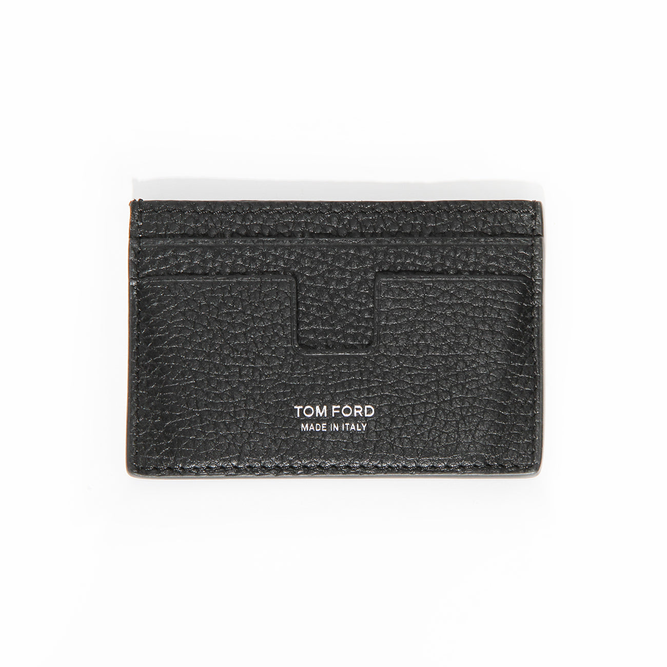 Tom Ford Black Leather Classic Cardholder