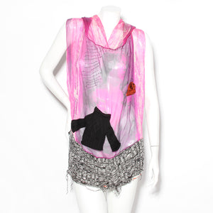 Jean Paul Gaultier Hooded Knit Tank