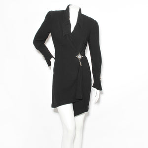 Thierry Mugler Star Detail Dress