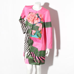 Katrantzou Stripe and Floral Jacket