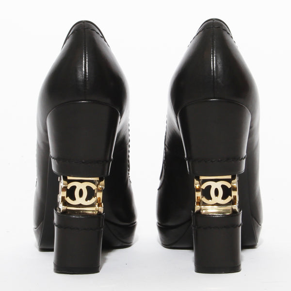 Chanel Cut Out CC Heel