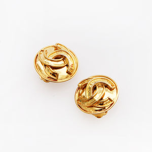 Chanel Classic CC Earrings