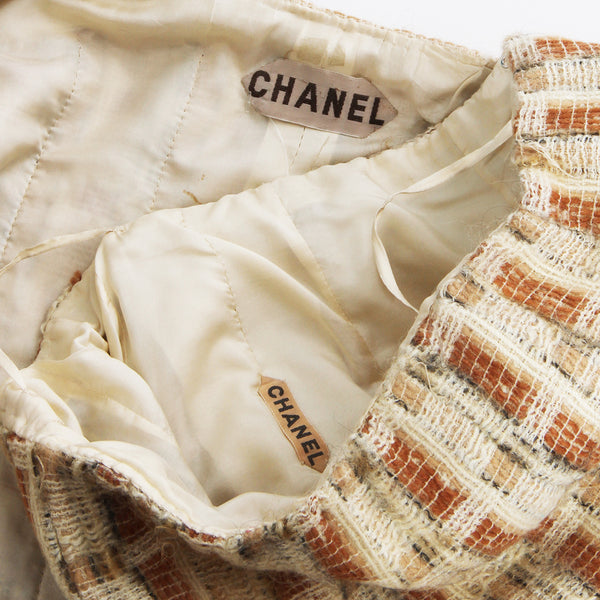 Chanel Haute Couture Tweed 2 Piece