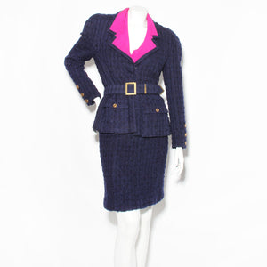 Chanel Haute Couture Tweed 3 Piece Suit