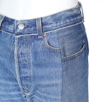 Reconstructed Denim Jeans