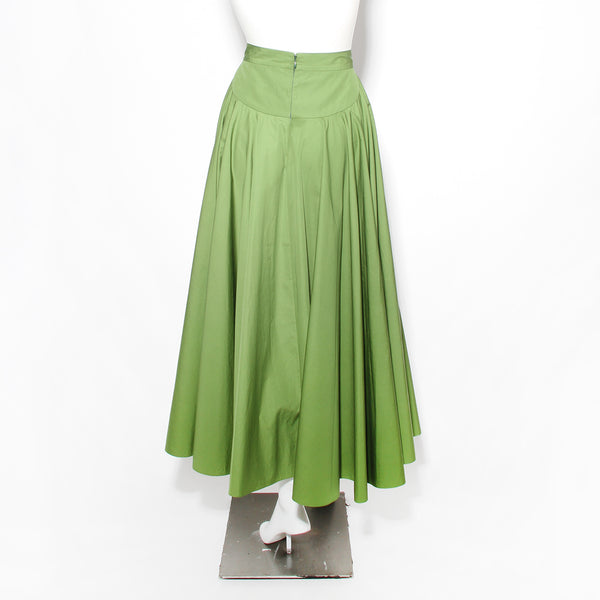 Alaia Cotton Maxi Skirt