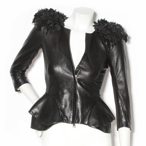 McQueen Fringe Shoulder Jacket