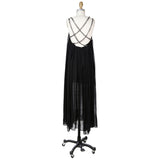 Chains Strap Trapeze Dress