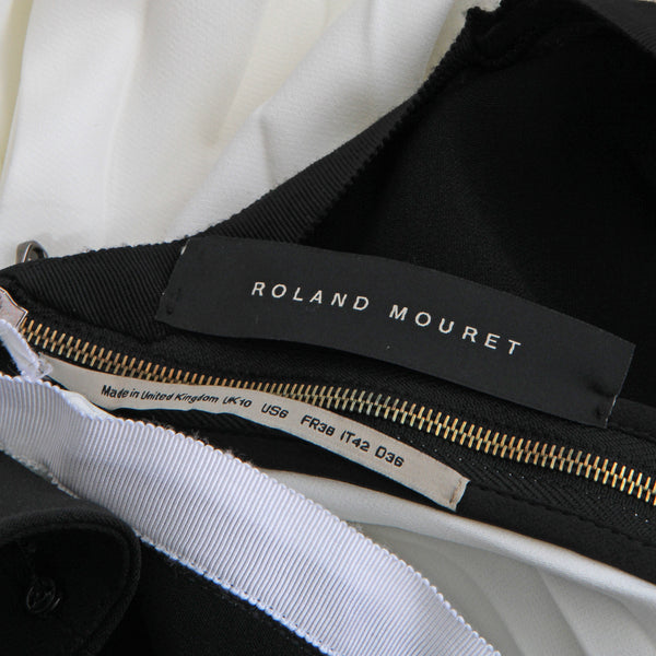 Roland Mouret Pleated Asymmetrical Dress