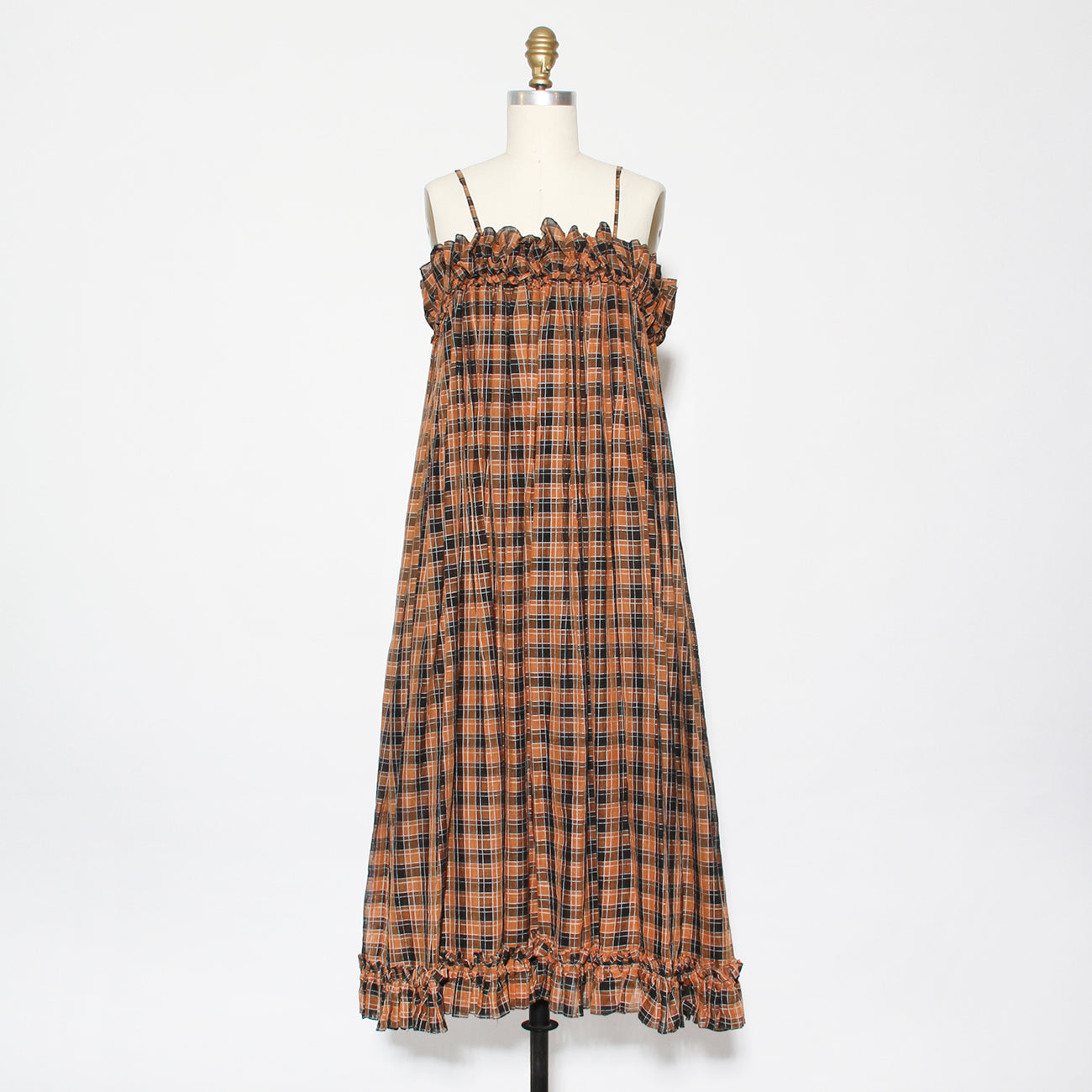 Vintage Mugler Plaid Sundress