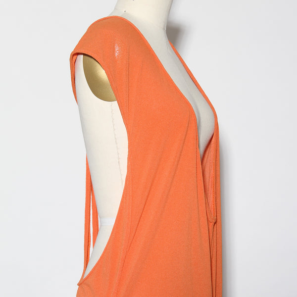 Vintage Alaia Open-Back Maxi Dress