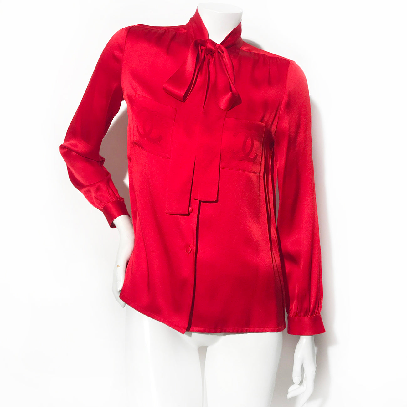 Chanel CC Pocket Blouse