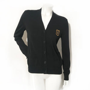 Chanel Camellia Patch Cardigan