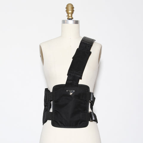 Nylon Prada Crossbody Bag