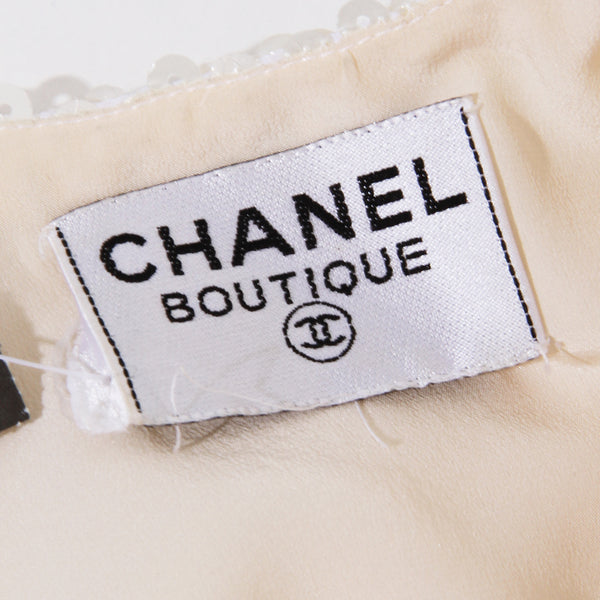 Chanel Sequin Bow Dress