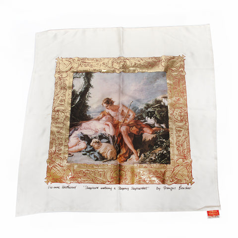 "Vivienne Westwood ""Portrait"" Collection Scarf FW1990"