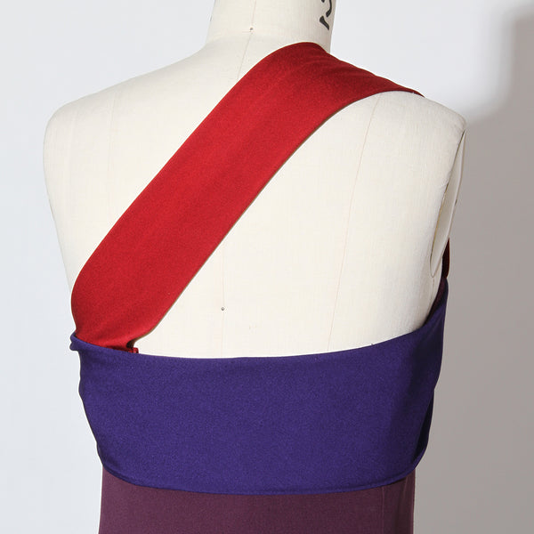 Vintage Versace Tricolor Mini Dress