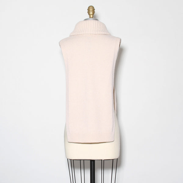 McQueen Turtleneck Sideless Knit