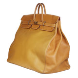 Vintage HAC Travel Birkin in Tan Leather, 1994