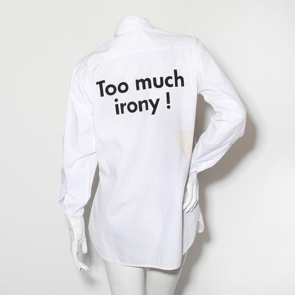 Vintage Moschino Too Much Irony Blouse