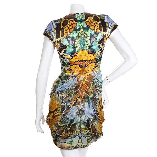 "Insect x Reptile Print Dress, SS 2010 ""Atlantis Collection"""