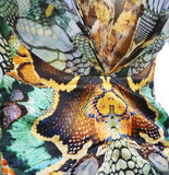 Insect x Reptile Print Dress, SS 2010