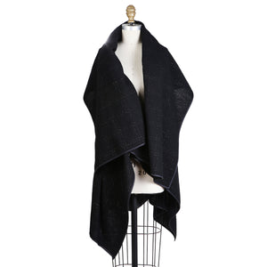 Sculptural Wool Wrap