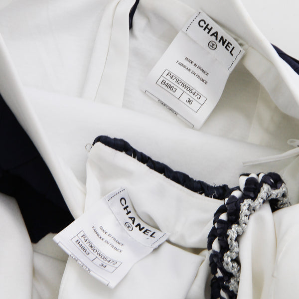 Chanel Skirt and Blouse Set