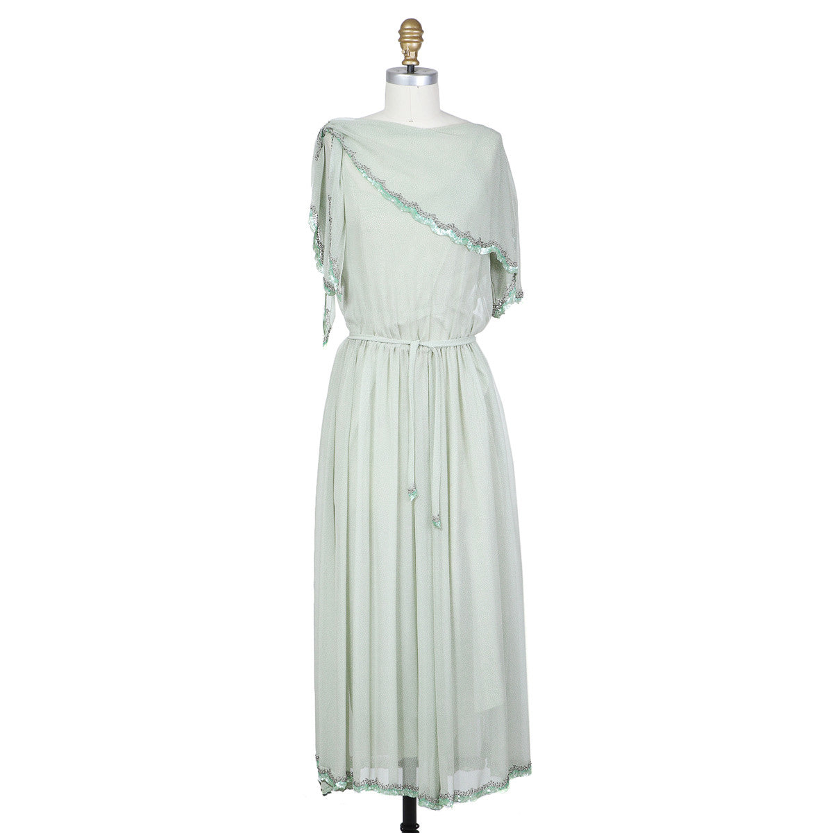 Chiffon Dress by Karl Lagerfeld circa 1970s
