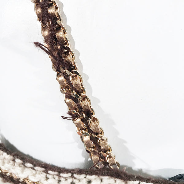 Chanel Crochet Chain Trim Dress