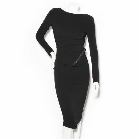 Tom Ford Black Signature Zip Dress