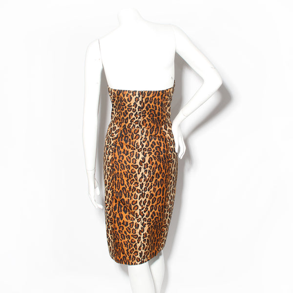 Patrick Kelly Leopard Dress
