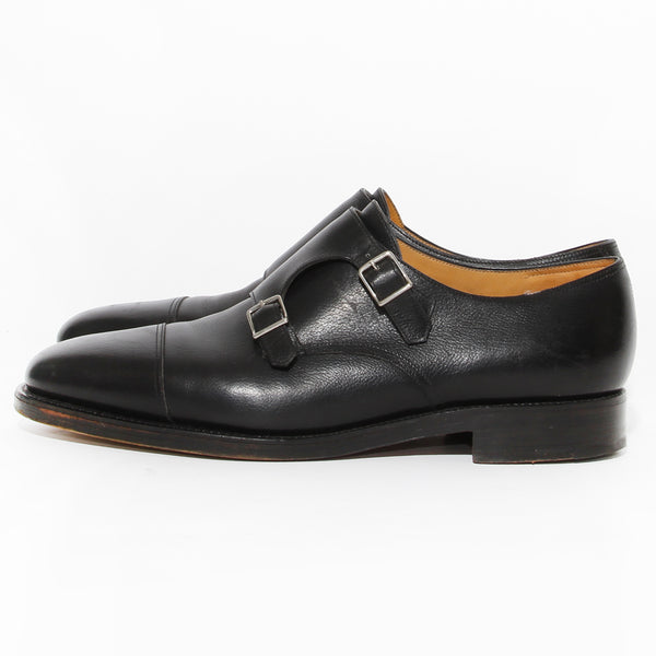 John Lobb Dual Buckle Dress Shoe